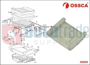 SEAT GUIDE INNER GOLF  (10PC)