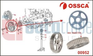 CAMSHAFT TIMING GEAR (44T)