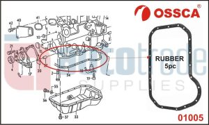 GASKET SUMP (RUBBER)