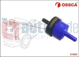 BRAKE BOOSTER NON-RETURN VALVE