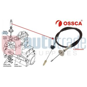 CLUTCH CABLE-1300mm (CC407)