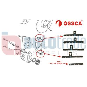BRAKE PAD CLIP SET