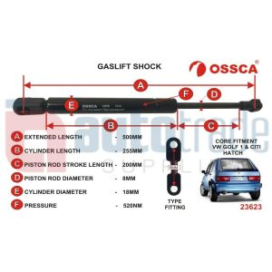 GASLIFT (500mm-520nm)