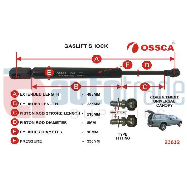 GASLIFT (488mm-350nm)