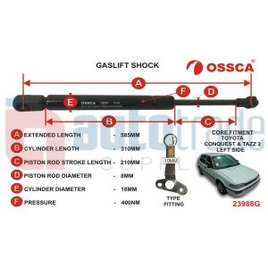 GASLIFT (585mm-400nm)
