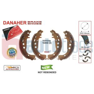 BRAKE SHOE (202.8mmX36.5mm)