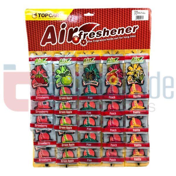 AIR FRESHENER TREES 25PC