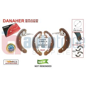 BRAKE SHOE (199.6mmX35mm)