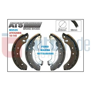 BRAKE SHOE (180.2mmX30.6mm)