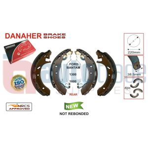 BRAKE SHOE (200mmX38.5mm)