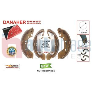 BRAKE SHOE (180mmX36.7mm)