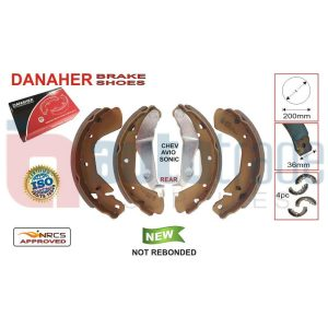 BRAKE SHOE (200mmX36mm)