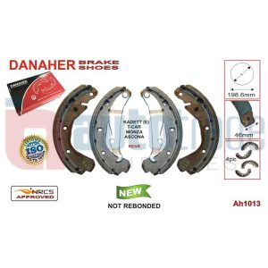 BRAKE SHOE (198.6mmX46mm)