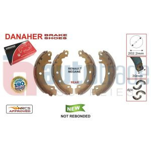 BRAKE SHOE (202.2mmX39mm)