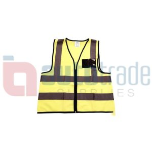 SAFETY VEST LIME-MEDIUM
