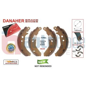 BRAKE SHOE (180mmX32.2mm)
