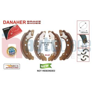 BRAKE SHOE (180mmX32mm)