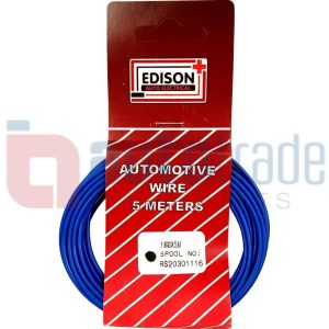 AUTO CABLE 1.0mm (5mtr-BLUE)