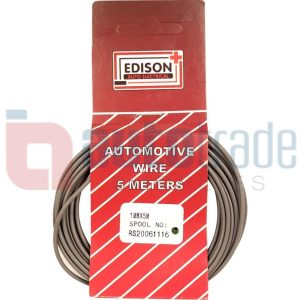 AUTO CABLE 1.0mm (5mtr-GREY)