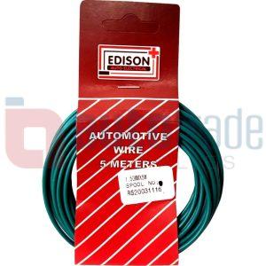 AUTO CABLE 1.5mm (5mtr-GREEN)