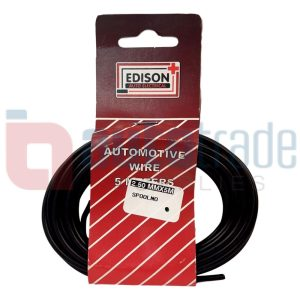 AUTO CABLE 2.5mm (5mtr-BLACK)