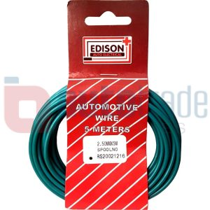 AUTO CABLE 2.5mm (5mtr-GREEN)