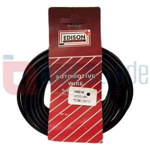 AUTO CABLE 4.0mm (5mtr-BLACK)