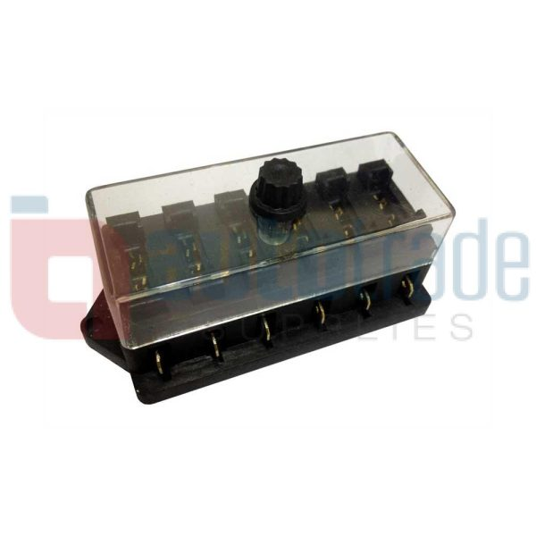 FUSE BOX (6 WAY)  In Fuse Box on