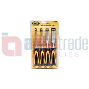 WOOD CHISEL SET (4pc)