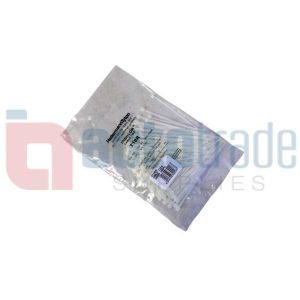 CABLE TIES 100PC - CLEAR