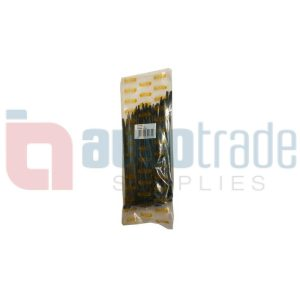 CABLE TIES 100PC - BLACK