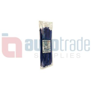 CABLE TIES 100PC - BLUE