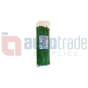 CABLE TIES 100PC - GREEN
