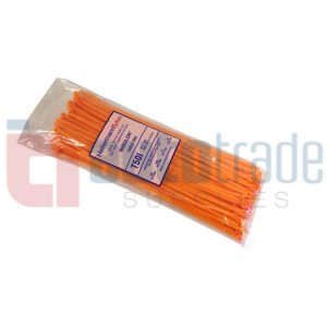CABLE TIES 100PC - ORANG