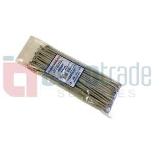 CABLE TIES 100PC - SILV