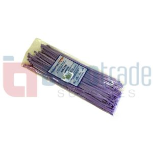 CABLE TIES 100PC - VIOLET