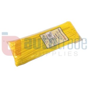 CABLE TIES 100PC - YELLOW