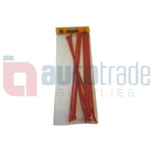 RYAN CABLE TIES 10PC - RED