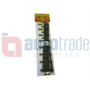 RYAN CABLE TIES 10PC - BLACK