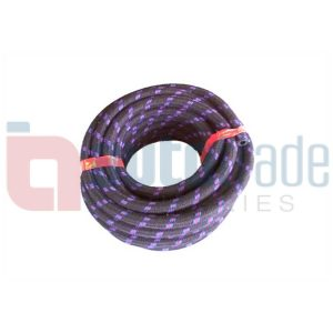 HOSE FUEL 3MM BRAIDED (10M)