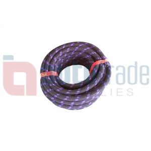 HOSE FUEL 5MM BRAIDED (10M)