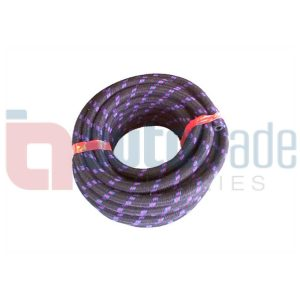 HOSE FUEL 6MM BRAIDED (10M)