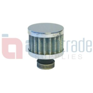 CONE FILTER CHROME SMALL