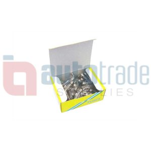 FUSE GLASS 20AMP 100PC