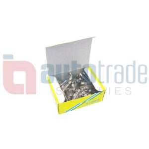 FUSE GLASS 30AMP 100PC