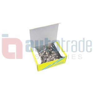 FUSE GLASS 35AMP 100PC