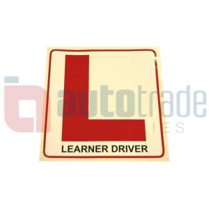 STICKER LEARNER DRIVER (L)