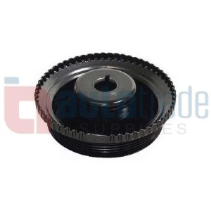 CRANKSHAFT PULLEY (V/BELT)