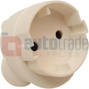 ELECTRICAL PLUG 2PIN ROUND