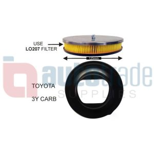 CHROME FILTER (TOYOTA 3Y)